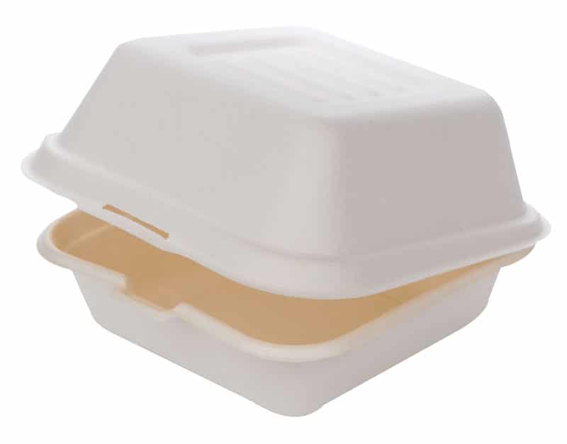 Sustain bagasse clamshell