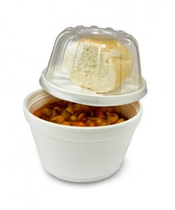 Dart Products Europe - EPS Container with Domed Lid