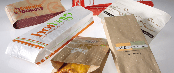 Hot n Crispy greaseproof food bags from Smith Anderson