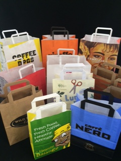 Smith Anderson printed paper carrier bags