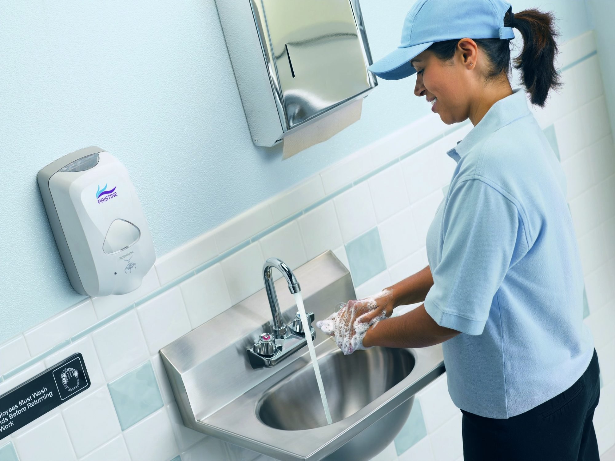 PRISTINE hand hygiene solutions