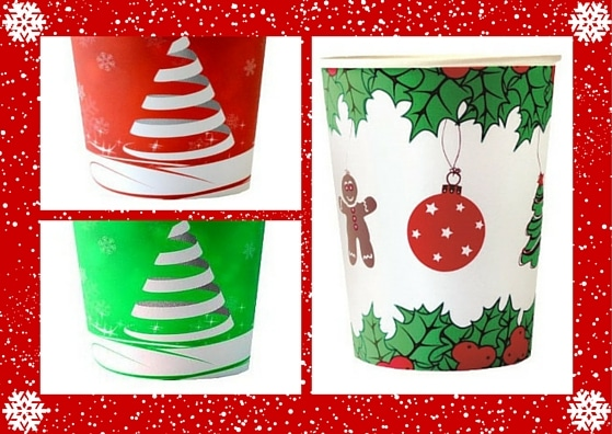 Bunzl Catering Supplies Christmas hot cup design