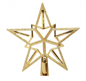 Gold tree top star