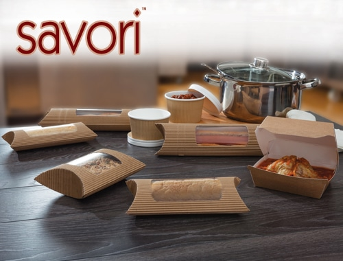 Colpac Savori hot food packaging