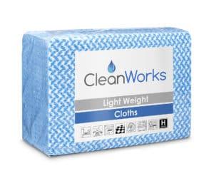 CleanWorks cloths Lightweight Cloths Blue