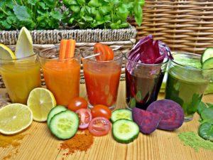 Multiple juice flavours