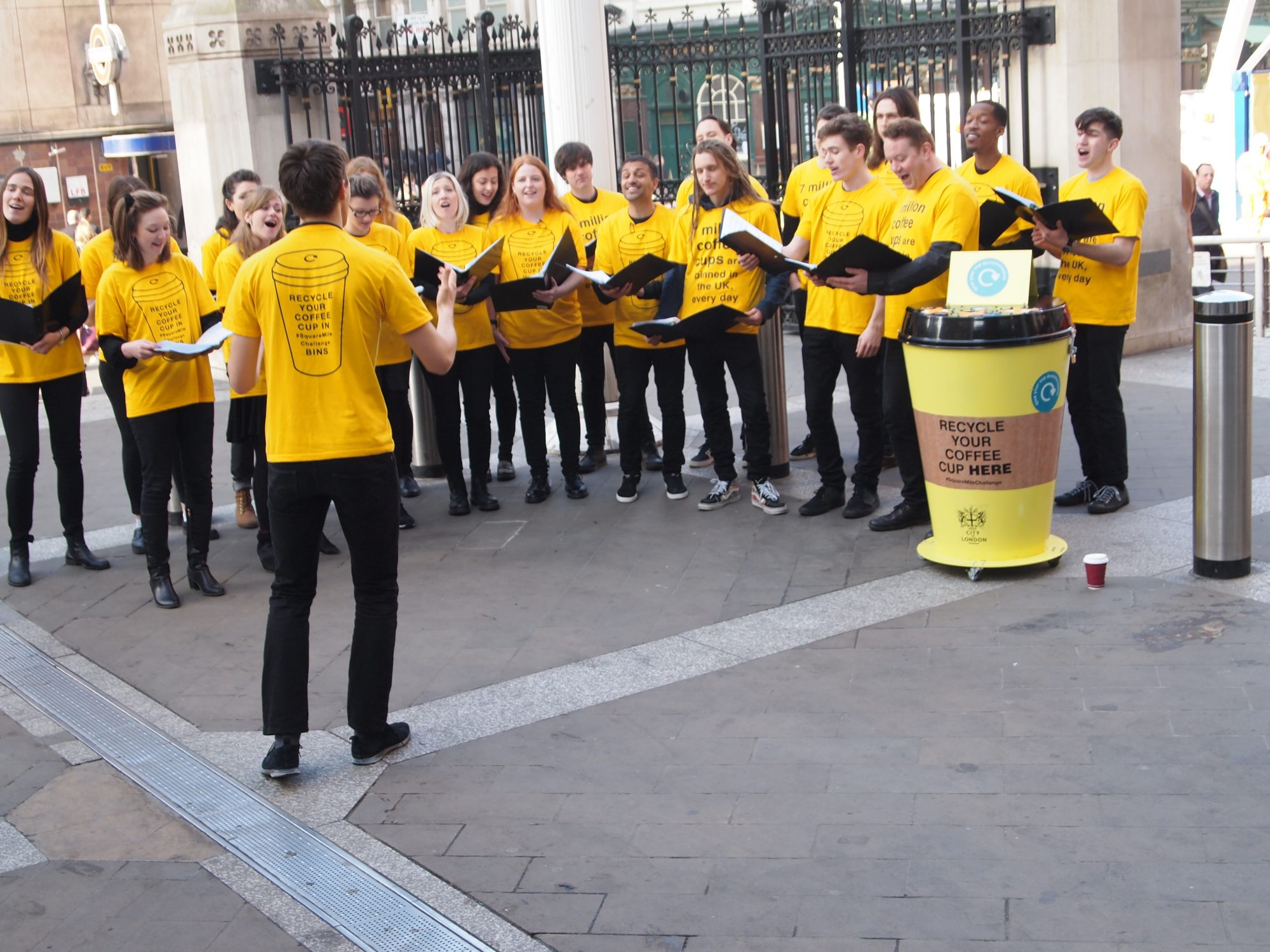 Square Mile Challenge choir